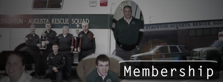 Membership at Staunton-Augusta Rescue Squad